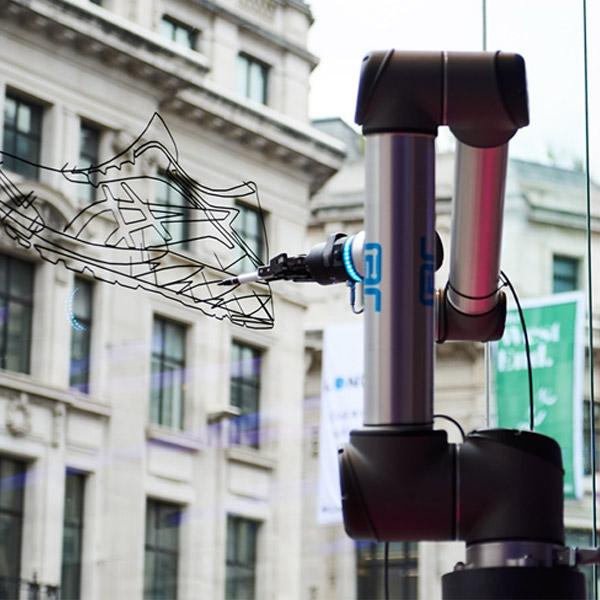 Robots Retail ASICS Regent Street